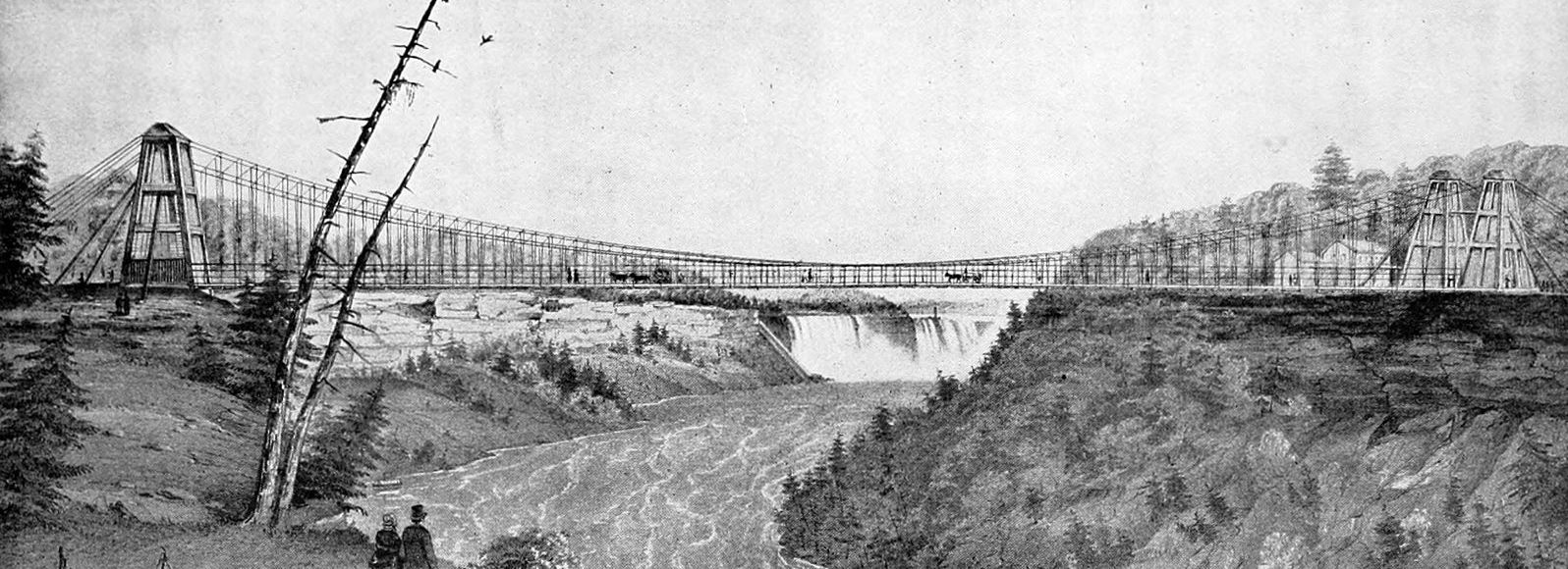 The Niagara Falls Supension Bridge Programming Analogy